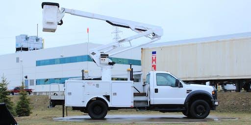 Vehicle Mounted Lift (Bucket Truck) Operator Training ($175+tax)