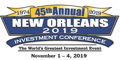 2019 New Orleans Investment Conference