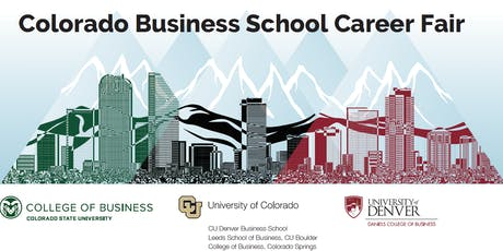 Colorado Business School Career Fair - 2019 tickets