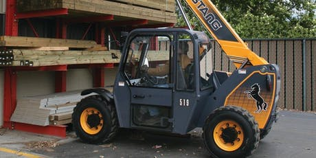Telehandler (Rough Terrain Forklift)Safety Training ($175+tax) tickets