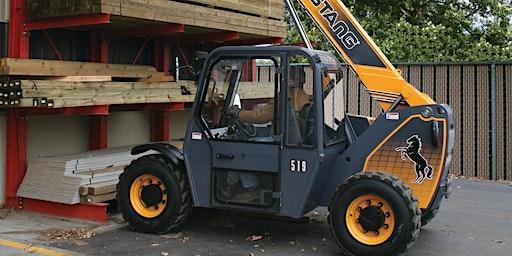 HALIFAX - Telehandler (Rough Terrain Forklift)Safety Training ($175+tax)