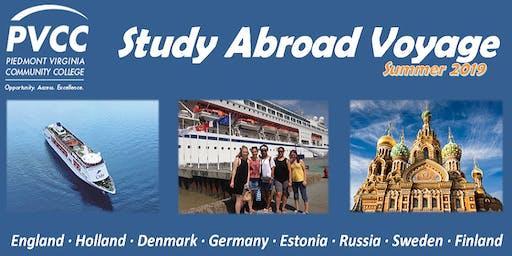 PVCC Study Abroad Voyage 2019