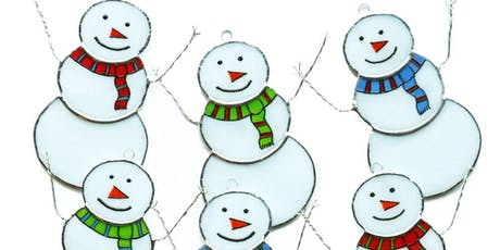 Stained Glass Snowman Workshop tickets
