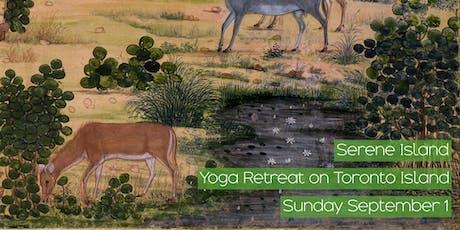 Serene Island: Yoga Retreat on Toronto Island tickets