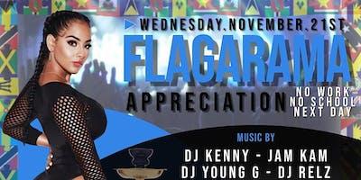 FLAGARAMA appreciation party NOV 21ST