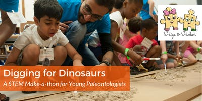 Digging for Dinosaurs: A STEM Make-a-thon for Young Paleontologists (Pre-K to 3rd Grade)
