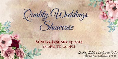 Quality Weddings Showcase 2019