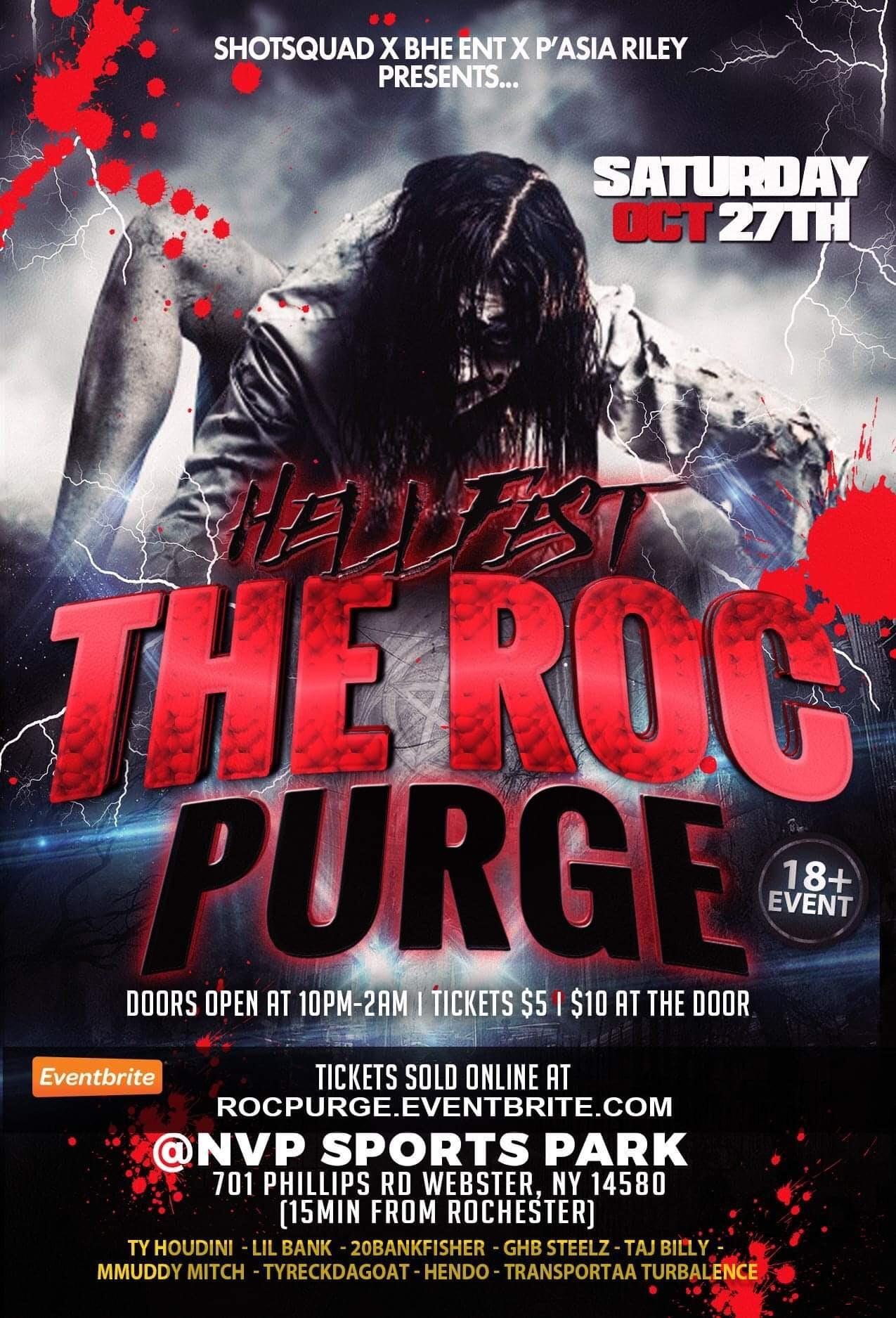The Roc Purge Halloween Party  c812c5a66e60