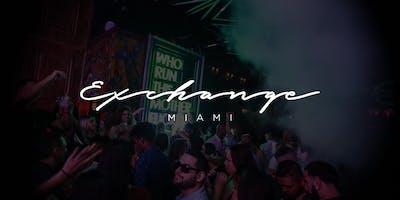 Club Exchange Miami - Party Bus- Open bar- Express entry