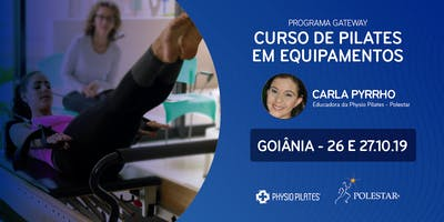 Curso de Pilates em Equipamentos - Physio Pilates Polestar - Goiânia