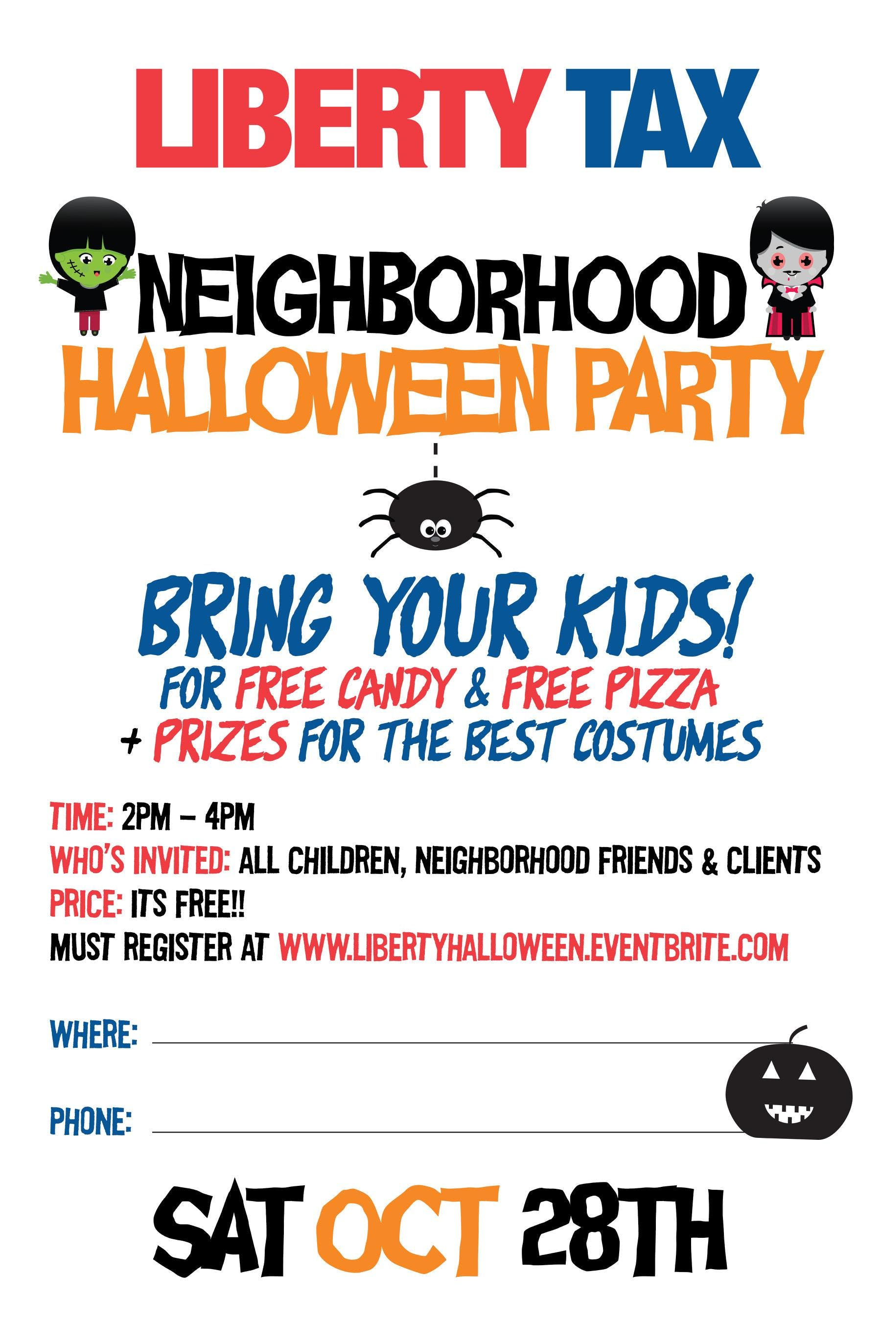 Harlem Nighborhood Halloween Party