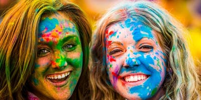 HOLI IN THE CITY : Sat March 23 - NYC's Biggest Festival of Colors Party
