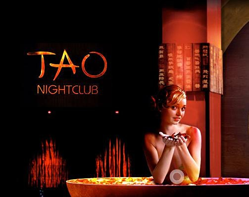 TAO NIGHTCLUB SATURDAY **FREE OPEN BAR FOR LADIES**