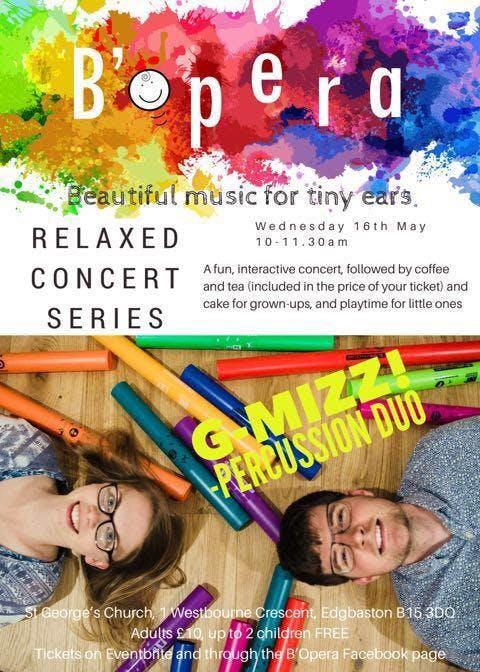 B'Opera Relaxed Concert Series, Third Wednesd