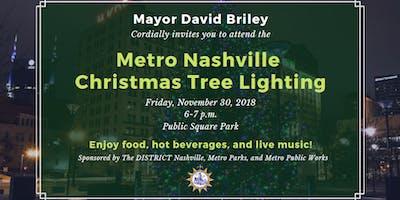 Metro Christmas Tree Lighting 2018