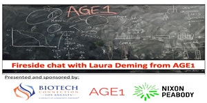 Fireside chat with Laura Deming from AGE1, presented...