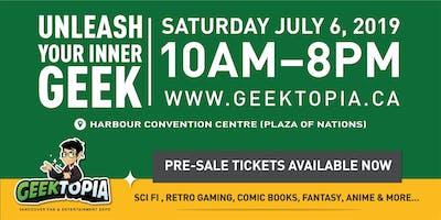 GEEKTOPIA: Vancouver Fan & Entertainment Expo
