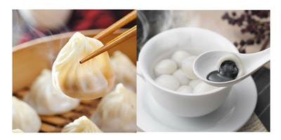 True Dumplings Nosh Down! - SOUP DUMPLINGS & MOCHI SESAME BALLS (2019)