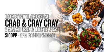 CRAB & CRAY CRAY PART 2: A Chin Chin Style Crab & Lobster Party