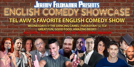 Jeremy Feldhamer Presents: English Comedy Showcase billets