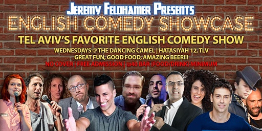 Jeremy Feldhamer Presents: English Comedy Showcase