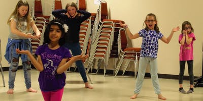 Winter Shakespeare Drama Classes in Calgary for Kids Ages 7-9 on Sunday afternoons