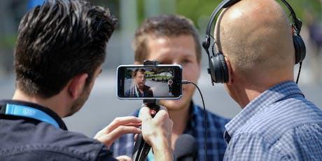 Update training 'Nieuws maken met de smartphone' tickets