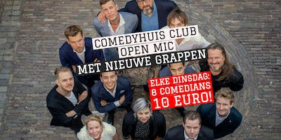Comedyhuis Club - Open Mics 2019