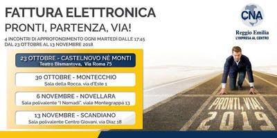 Fattura elettronica: 4 incontri di approfondimento - Castelnovo ne' Monti