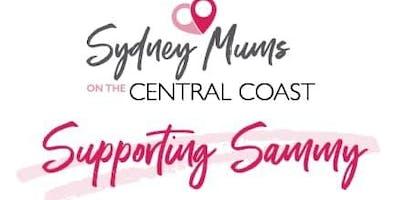 EN BLANC FOR SAMMY - SYDNEY MUMS ON THE CC SUPPORTING SAMMY