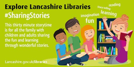 Sharing Stories for National Storytelling Week (Eccleston) tickets