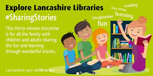 Sharing Stories for National Storytelling Week (Eccleston)
