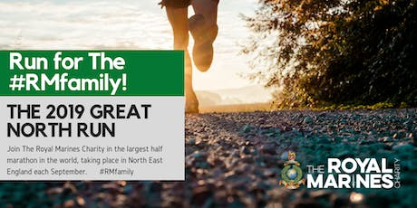 Great North Run 2019 - Secure a charity place with The Royal Marines Charity tickets