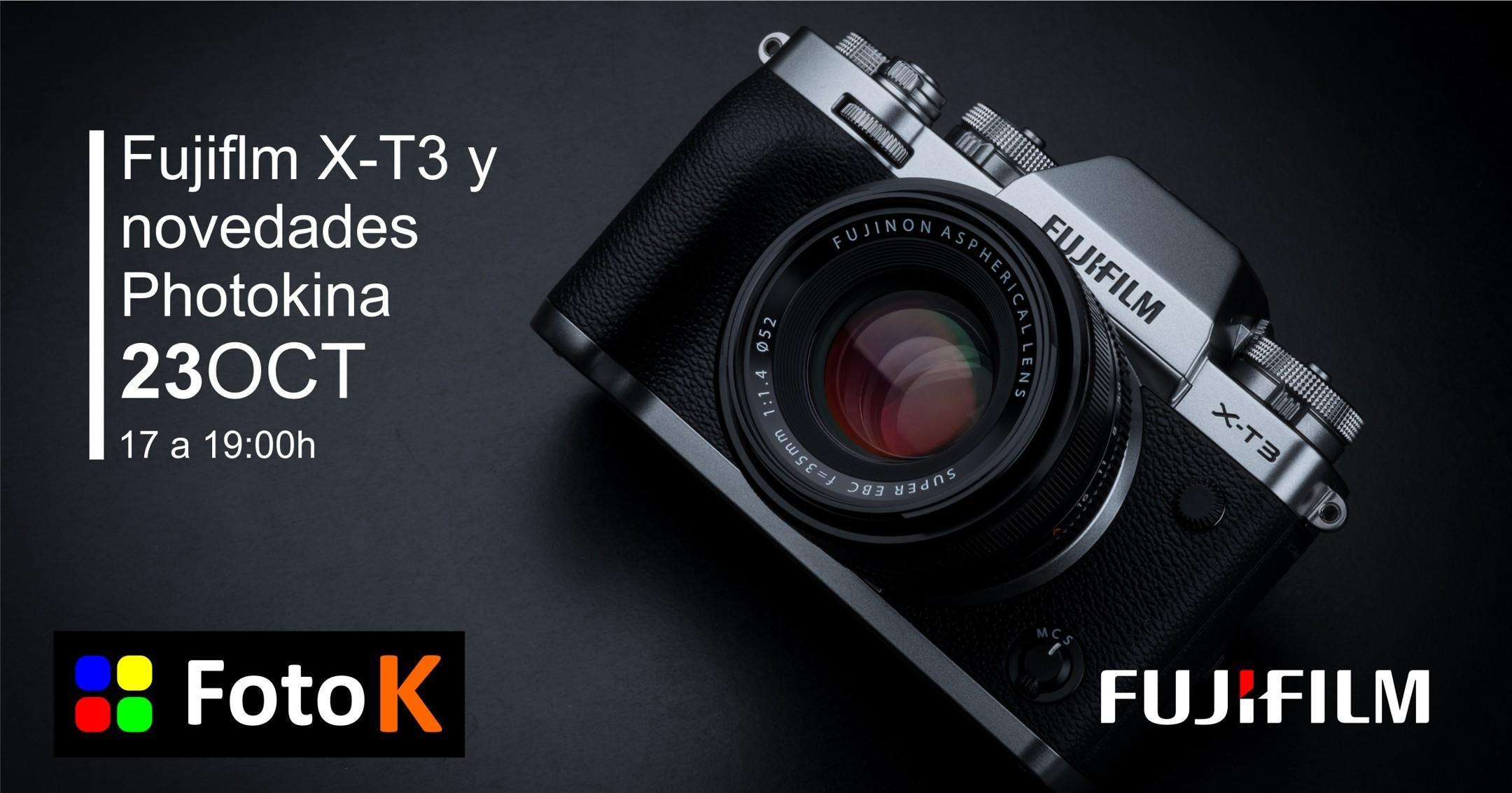 Fujifilm en la Mirrorless Week de Foto K