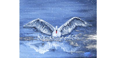 """PAINTOMANIA malt \""""Winter Swan\"""" in Hannover"""