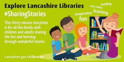 Sharing Stories - Family Storytime (Fleetwood)