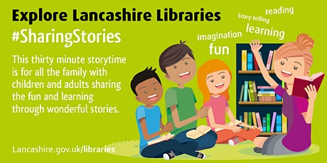 Sharing Stories - Family Storytime (Fleetwood) tickets