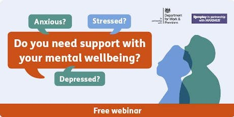 Introducing The Access to Work Mental Health Support Service (webinar) tickets