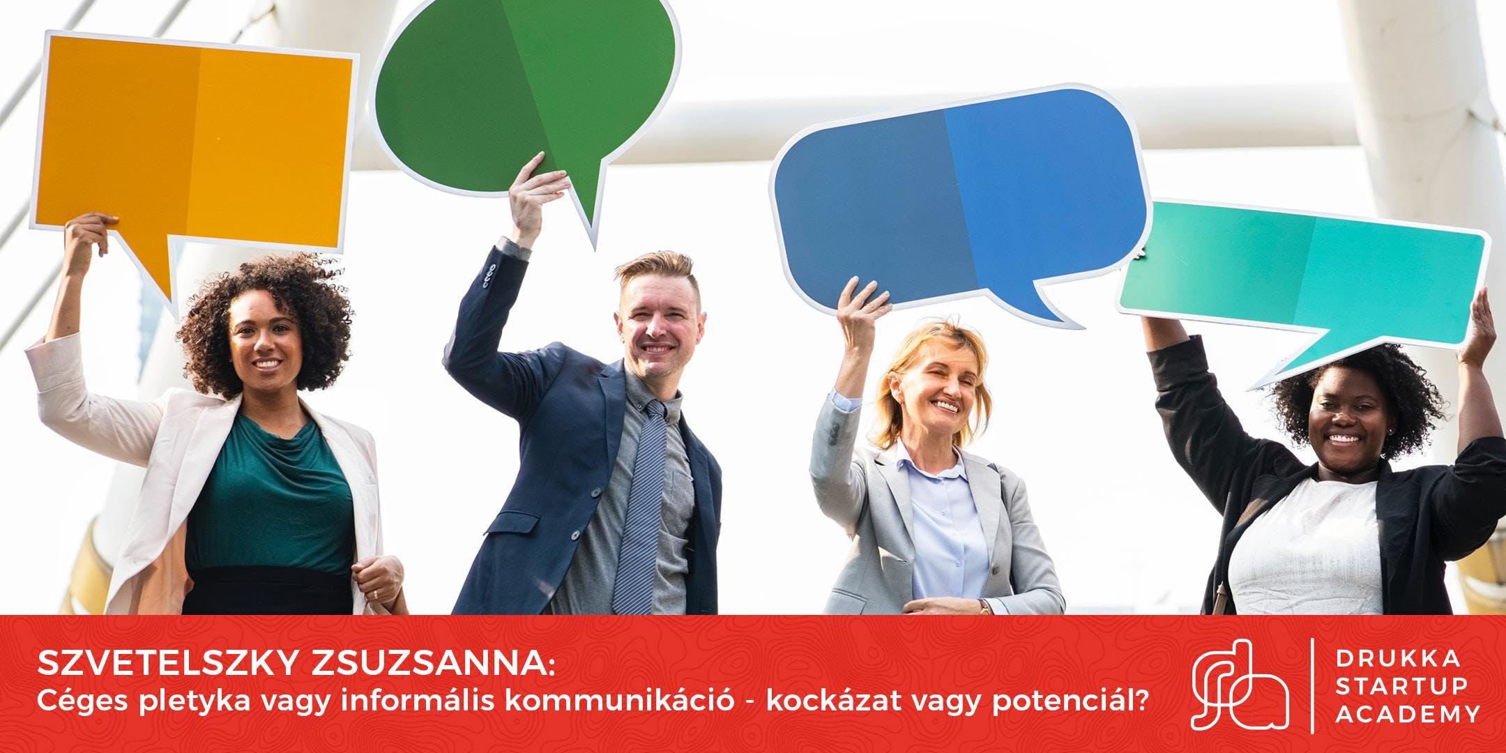 Startup Academy, Szvetelszky Zsuzsanna: Céges
