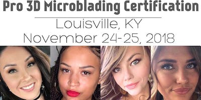 2 Day - Louisville Pro 3D Microblading Certification Course