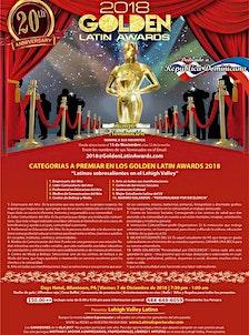 The Golden Latin Awards logo