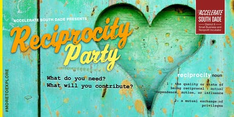 Reciprocity Party—Last Friday of Every Month  tickets