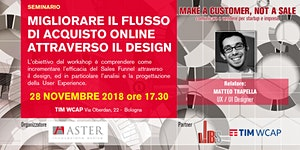 Make a customer not a sale Chap IV: Migliorare il...