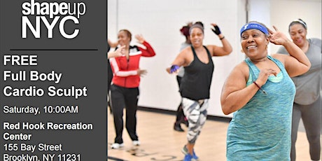 Free Group Workout Class - Full Body Cardio Sculpt tickets