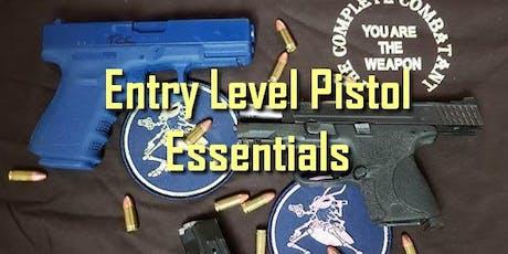 December 2019 Entry Level Pistol Essentials tickets