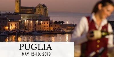 Puglia Food & Wine Tour: May 12-19, 2019