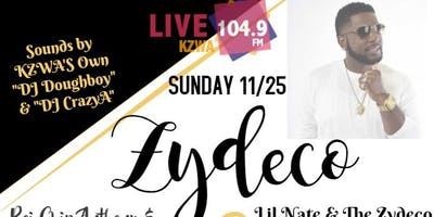 Zydeco & Southern Soul Sunday\