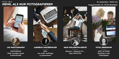 FOTO TALK | Mehr, als nur fotografieren!