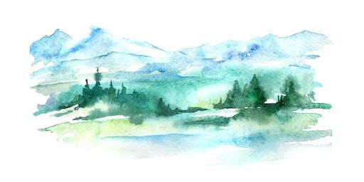 Walk & Watercolor - September