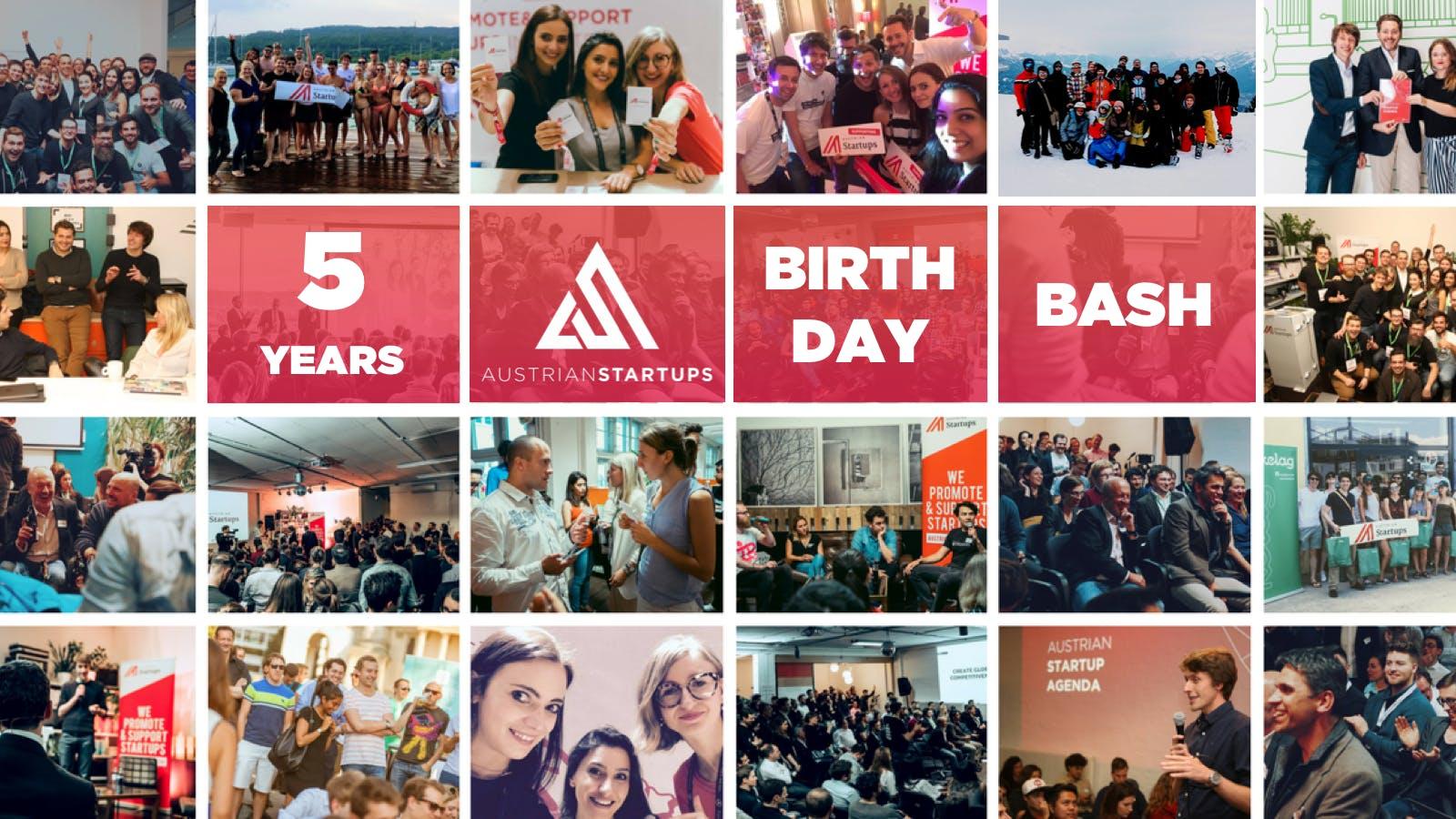 FIVE - The Big AustrianStartups Birthday Bash